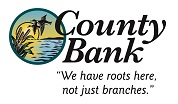 county bank color logo